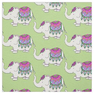 Fancy Elephant Fabric