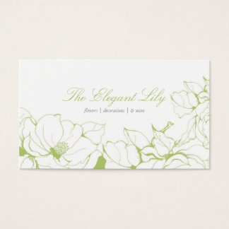Fancy Floral Business Card