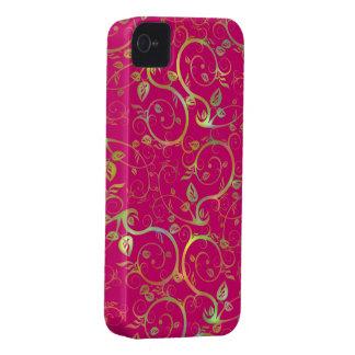 Fancy Floral iPhone 4 Case