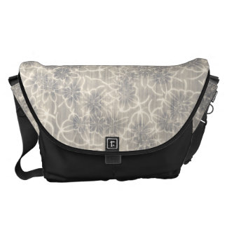 Fancy Floral Pattern Courier Bags