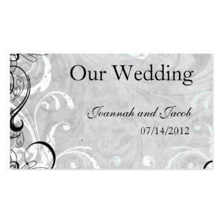 Fancy Fourishes Wedding Website Card Pack Of Standard Business Cards