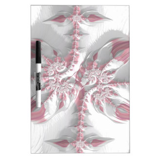 Fancy & Fun Fractals With Cool Mandala Patterns Dry Erase Board