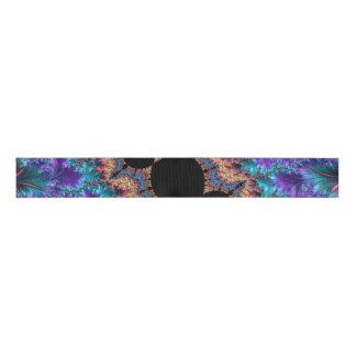 Fancy & Fun Fractals With Cool Mandala Patterns Grosgrain Ribbon