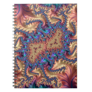Fancy & Fun Fractals With Cool Mandala Patterns Notebook
