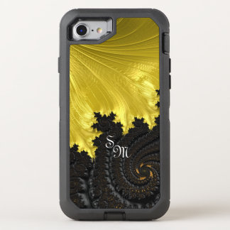 Fancy & Fun Fractals With Cool Mandala Patterns OtterBox Defender iPhone 8/7 Case