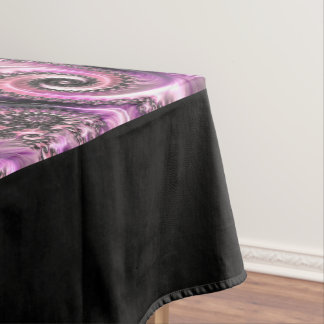Fancy & Fun Fractals With Cool Mandala Patterns Tablecloth