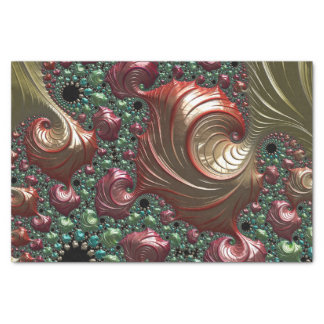 Fancy & Fun Fractals With Cool Mandala Patterns Tissue Paper