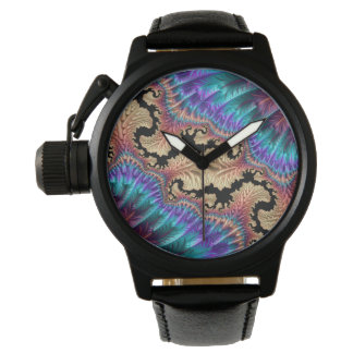 Fancy & Fun Fractals With Cool Mandala Patterns Watch