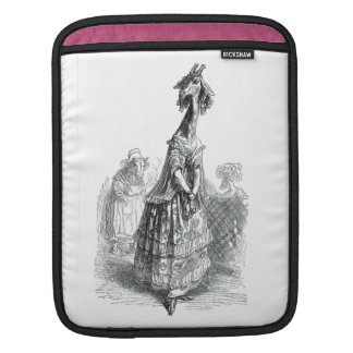 Fancy Giraffe iPad Sleeve