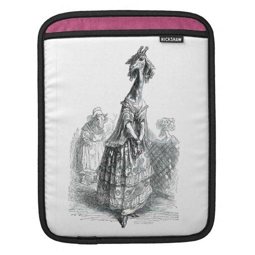 Fancy Giraffe iPad Sleeve