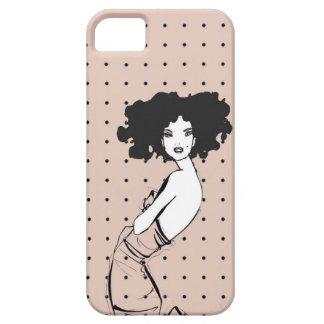 Fancy Girl Dress Case iPhone 5 Cover