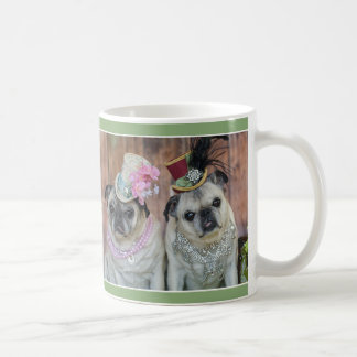 Fancy Girl Pug Mug