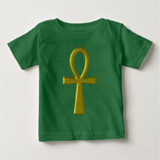 Fancy Gold Ankh Baby Clothes Baby T-Shirt