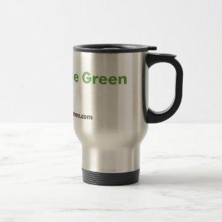 Fancy Green Stainless Travel Mug