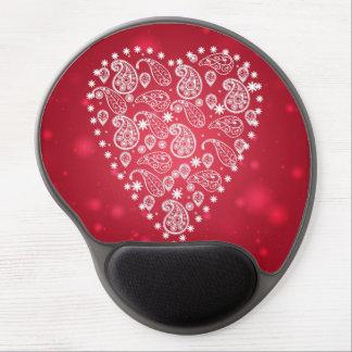 Fancy Heart Gel Mousepad