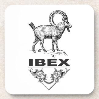 Fancy Ibex animal Coaster