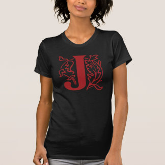 Fancy Letter J T-Shirt