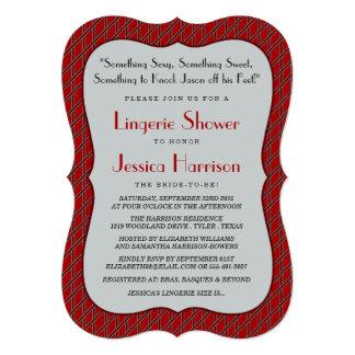 Fancy Lingerie Shower Invitations