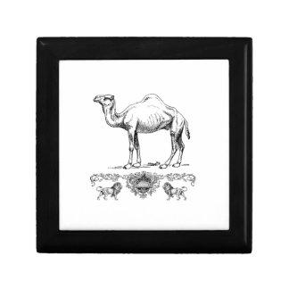 fancy lion camel gift box