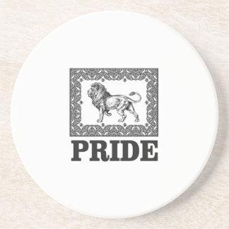 Fancy lion pride coaster
