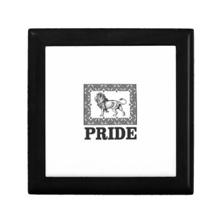 Fancy lion pride gift box