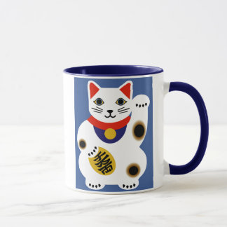 Fancy Lucky Cat Mug
