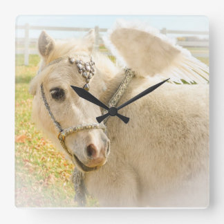 Fancy Miniature Horse Wall Clock