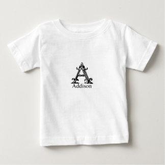 Fancy Monogram: Addison Baby T-Shirt