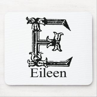 Fancy Monogram: Eileen Mouse Pad