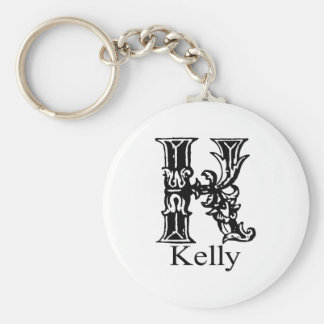 Fancy Monogram: Kelly Key Ring