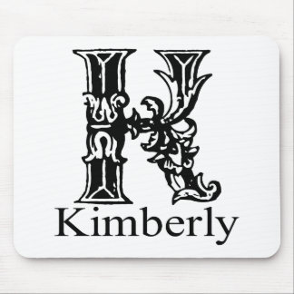 Fancy Monogram: Kimberly Mouse Pad
