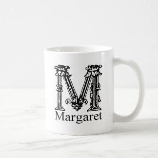 Fancy Monogram: Margaret Coffee Mug