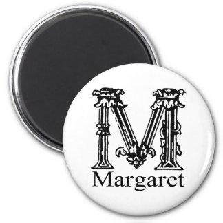 Fancy Monogram: Margaret Magnet