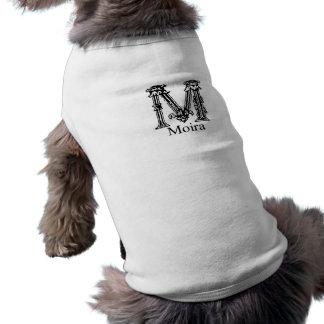 Fancy Monogram: Moira Pet Tee