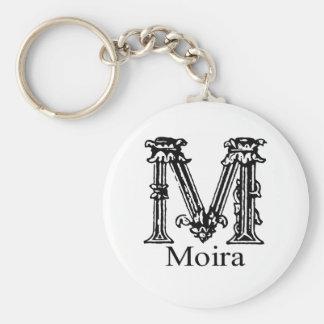 Fancy Monogram Moira Key Chain