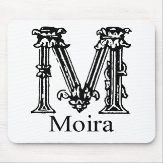 Fancy Monogram Moira Mousepads