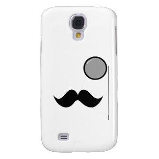 Fancy Mustache & Monocle Samsung Galaxy S4 Cases