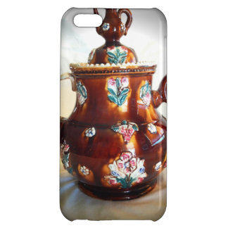 Fancy Ornate Antique English Teapot Coffee Pot Cover For iPhone 5C