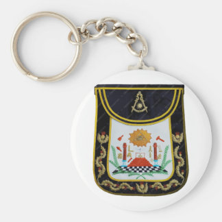 Fancy Past Masters Apron Key Ring
