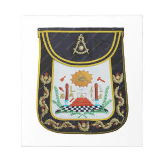 Fancy Past Masters Apron Notepads