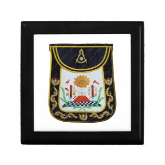 Fancy Past Masters Apron Small Square Gift Box