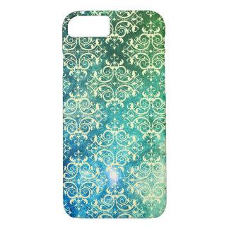 Fancy Pattern / Galaxy Green iPhone 8/7 Case