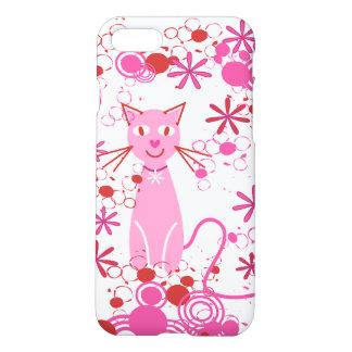 Fancy Pink Cat iPhone 7 Case