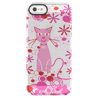 Fancy Pink Cat Phone Case
