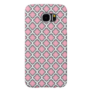 Fancy Pink Pattern Samsung Galaxy S6 Cases