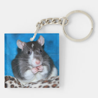 Fancy Rat Keychain