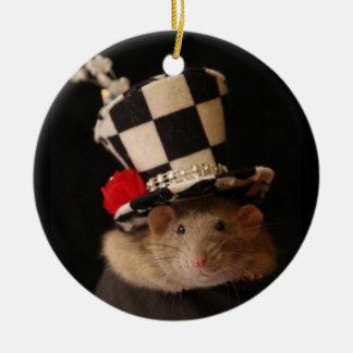 Fancy Rat Ornament