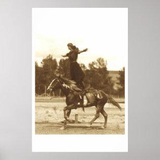 Fancy Rider Poster