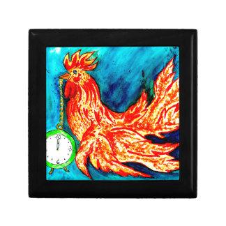 Fancy Rooster Art 2 Gift Box