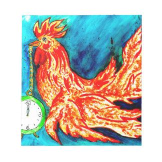 Fancy Rooster Art 2 Notepads